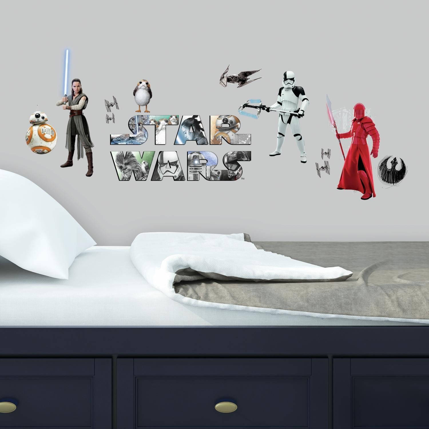 Muursticker Star Wars RoomMates