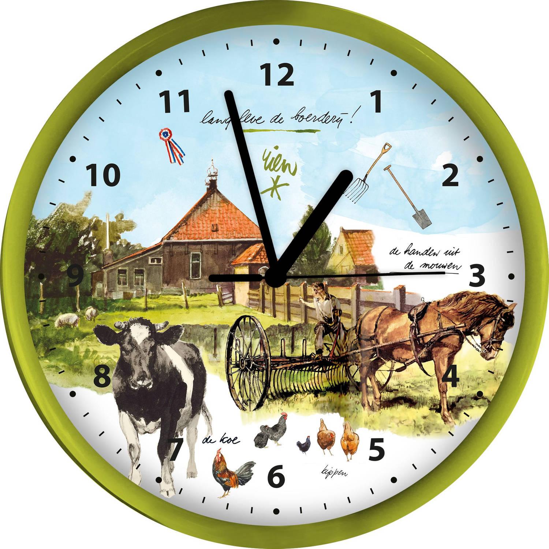 Klok Poortvliet boerderij 25 cm