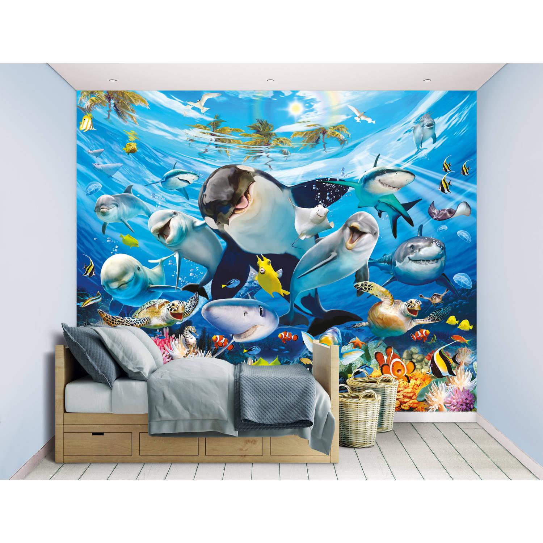Behang Zee Avontuur Walltastic 245x305 cm