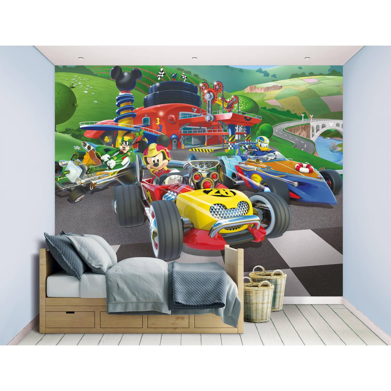 Behang Mickey Mouse Walltastic 245x305 Cm