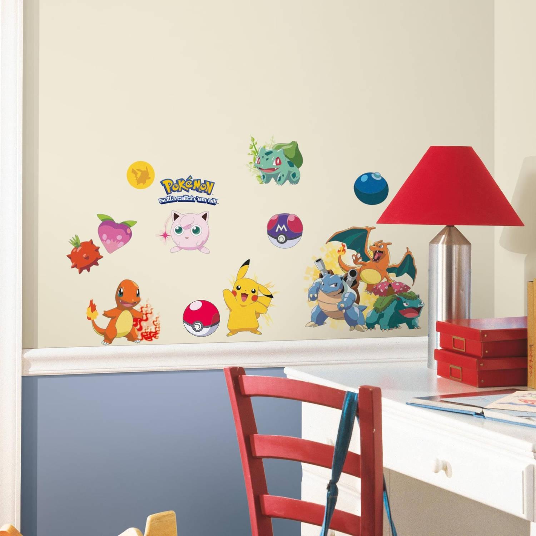 Muursticker Pokemon RoomMates Iconic