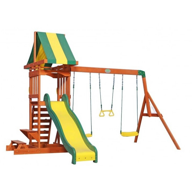 Afbeelding van Backyard Discovery Sunnydale speeltoren met schommels 406 cm
