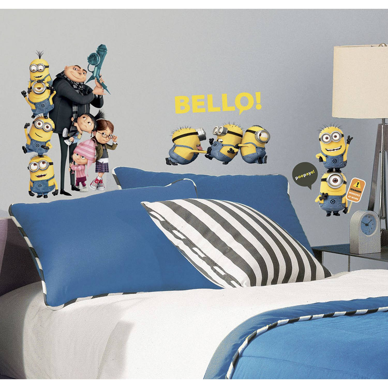 Muursticker Minions Roommates Minions