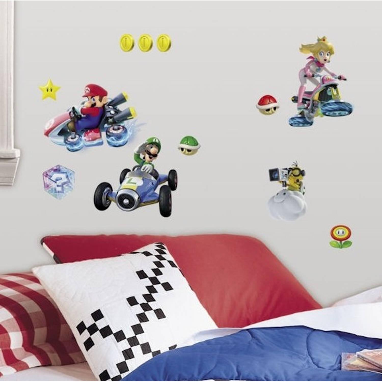 Muursticker Nintendo RoomMates: Mario Kart 8