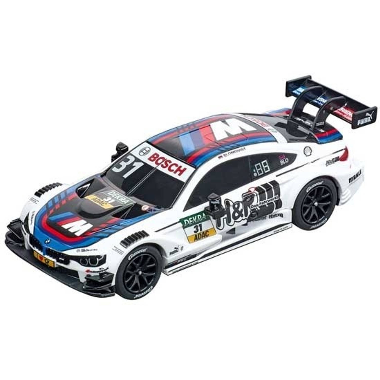 Carrera Go racebaanauto BMW M4 DTM No.31 T. Blomqvist wit