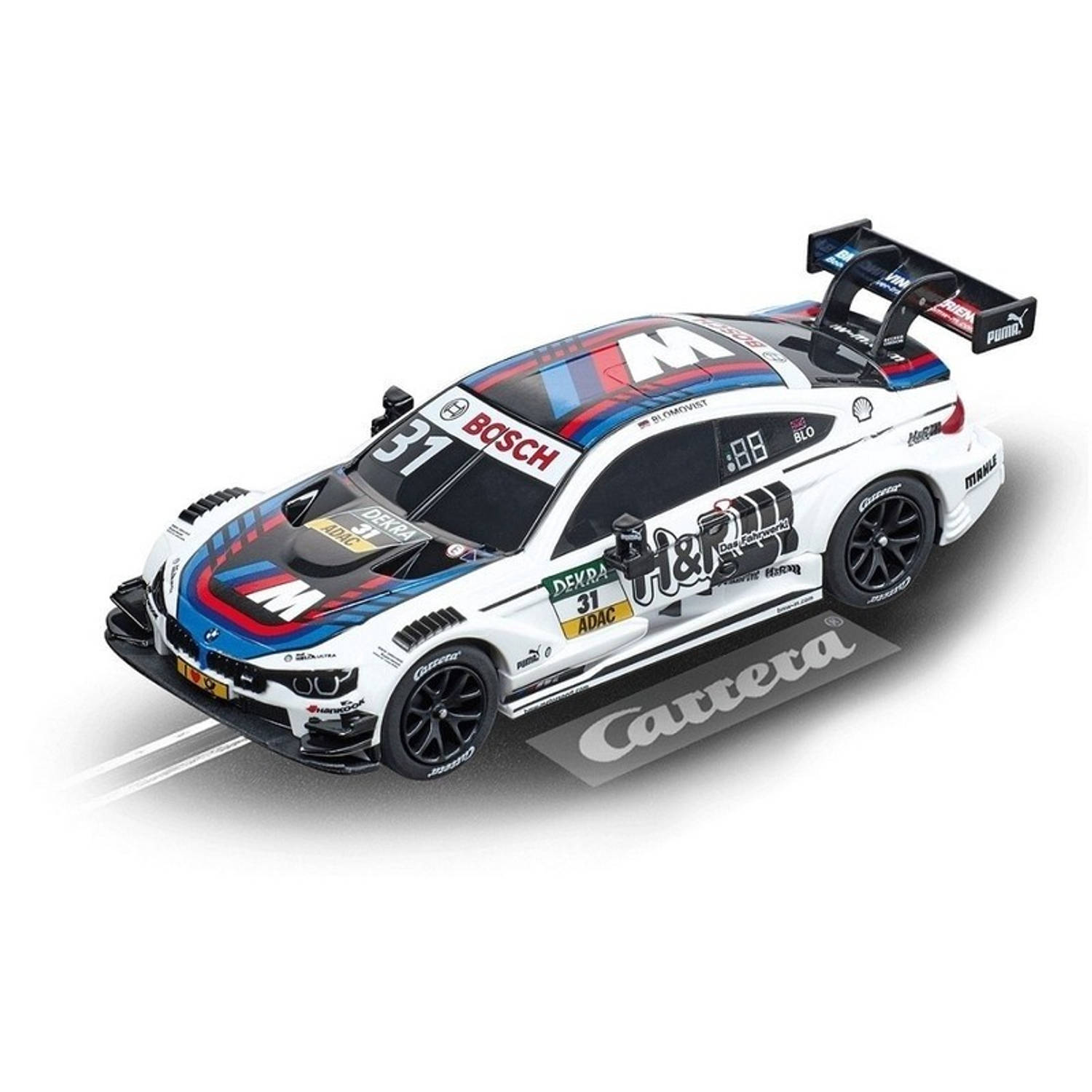 Carrera Digital racebaanauto BMW M4 DTM wit