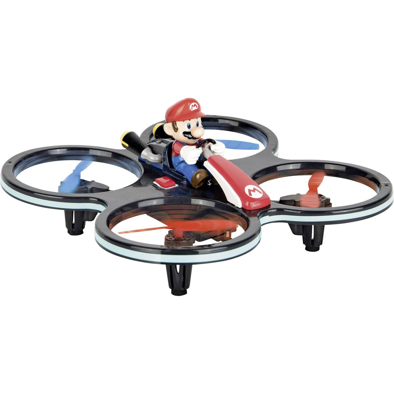 Carrera drone Mario-Copter blauw/rood 16,5 cm