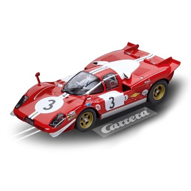 Carrera Go racebaanauto Ferrari 512S No.3 rood 1:24