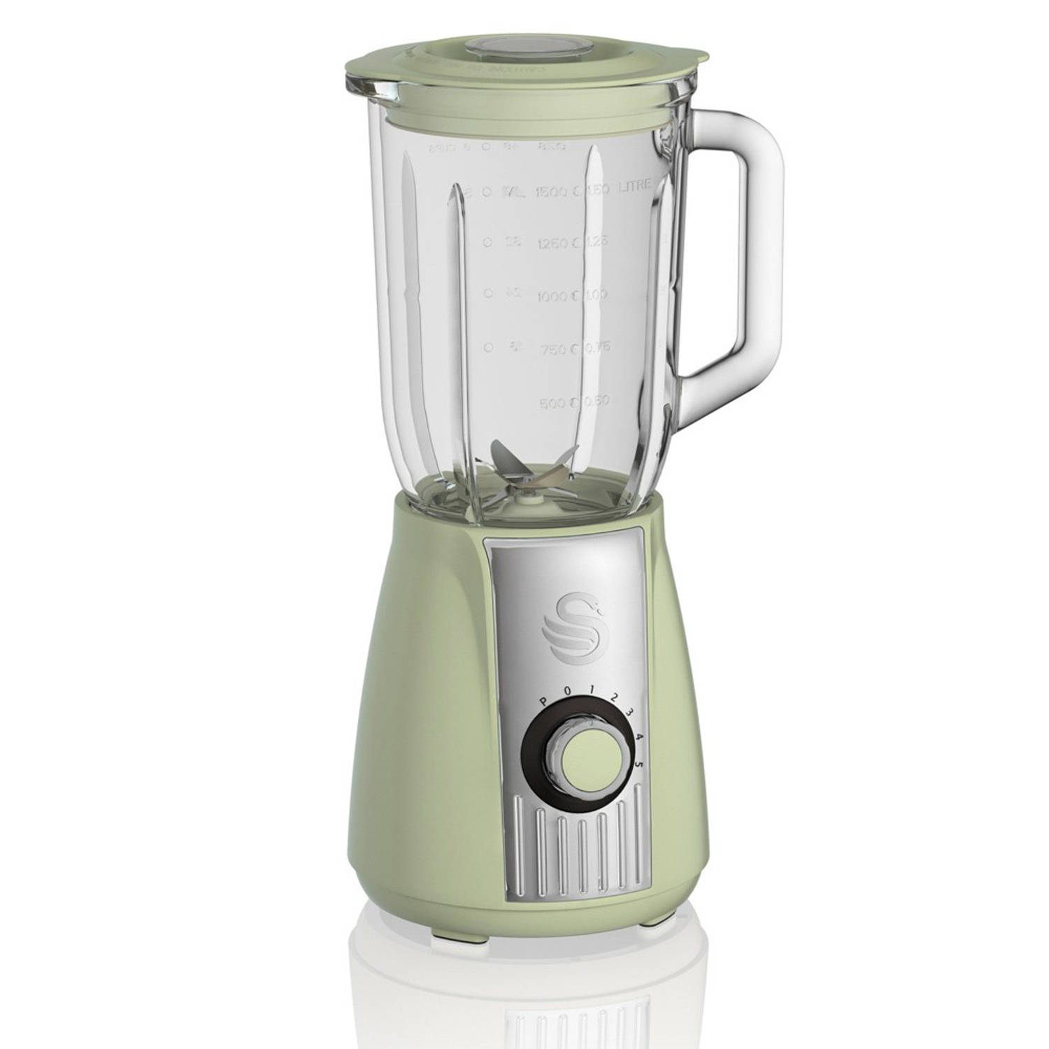 Swan SP20180GN Retro Blender Groen