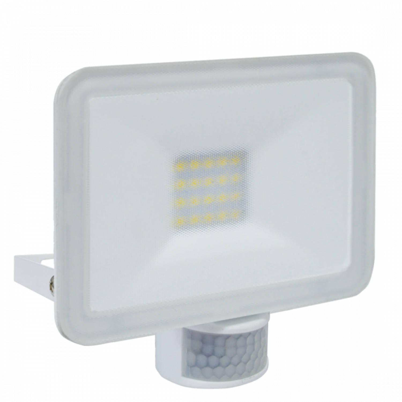 ELRO LF5020P LED Buitenlamp met Bewegingssensor Slim Design - 20W - 1600lm - Wit