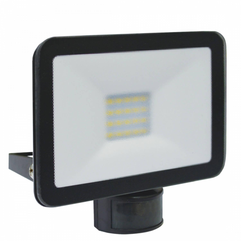 ELRO LF5020P LED Buitenlamp met Bewegingssensor Slim Design - 20W - 1600lm - Zwart