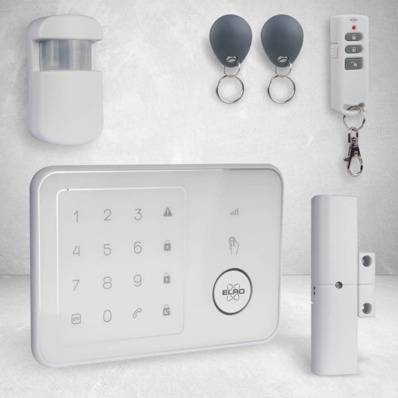 ELRO AG4000 Home Compleet Alarmsysteem - met GSM Module & App