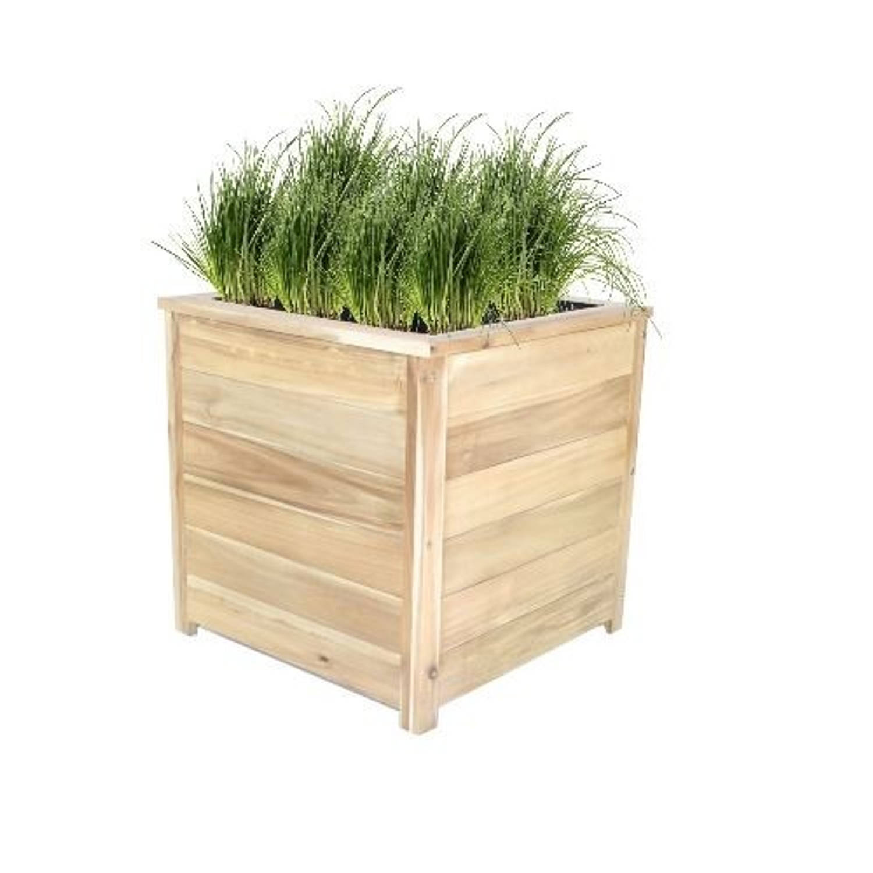 Green-lab Enjoyplanter Hardhouten Plantenbak 60 X 60 X 60
