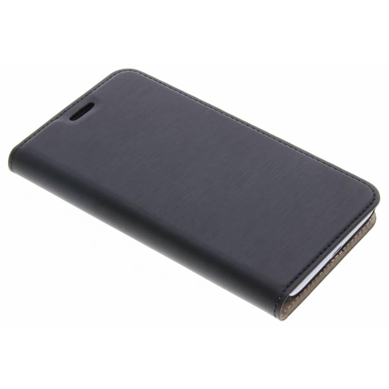 Zwarte Slim Booklet Case voor de Samsung Galaxy J1 (2016)