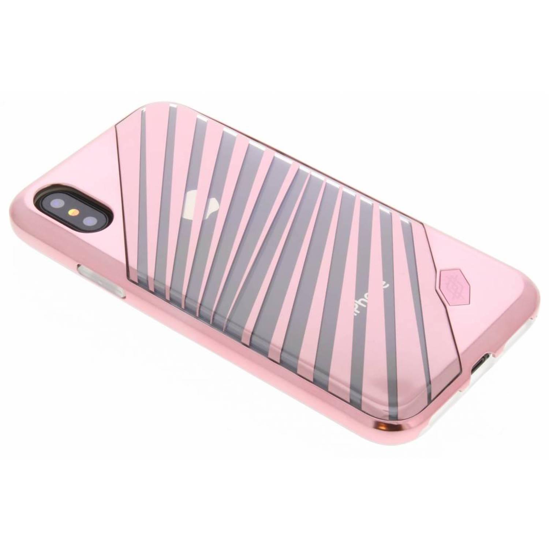 Roze Rays Revel Lux Cover voor de iPhone X