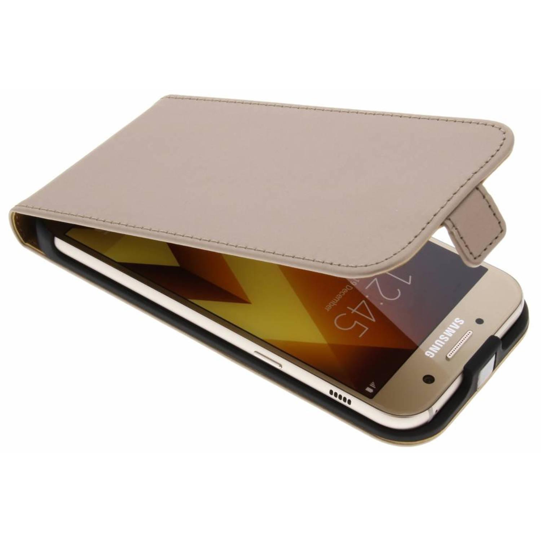Gouden Luxe Flipcase voor de Samsung Galaxy A5 (2017)