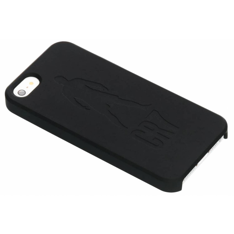 Zwarte CR7 Freekick Edition Silicone Case voor de iPhone 5 / 5s / SE