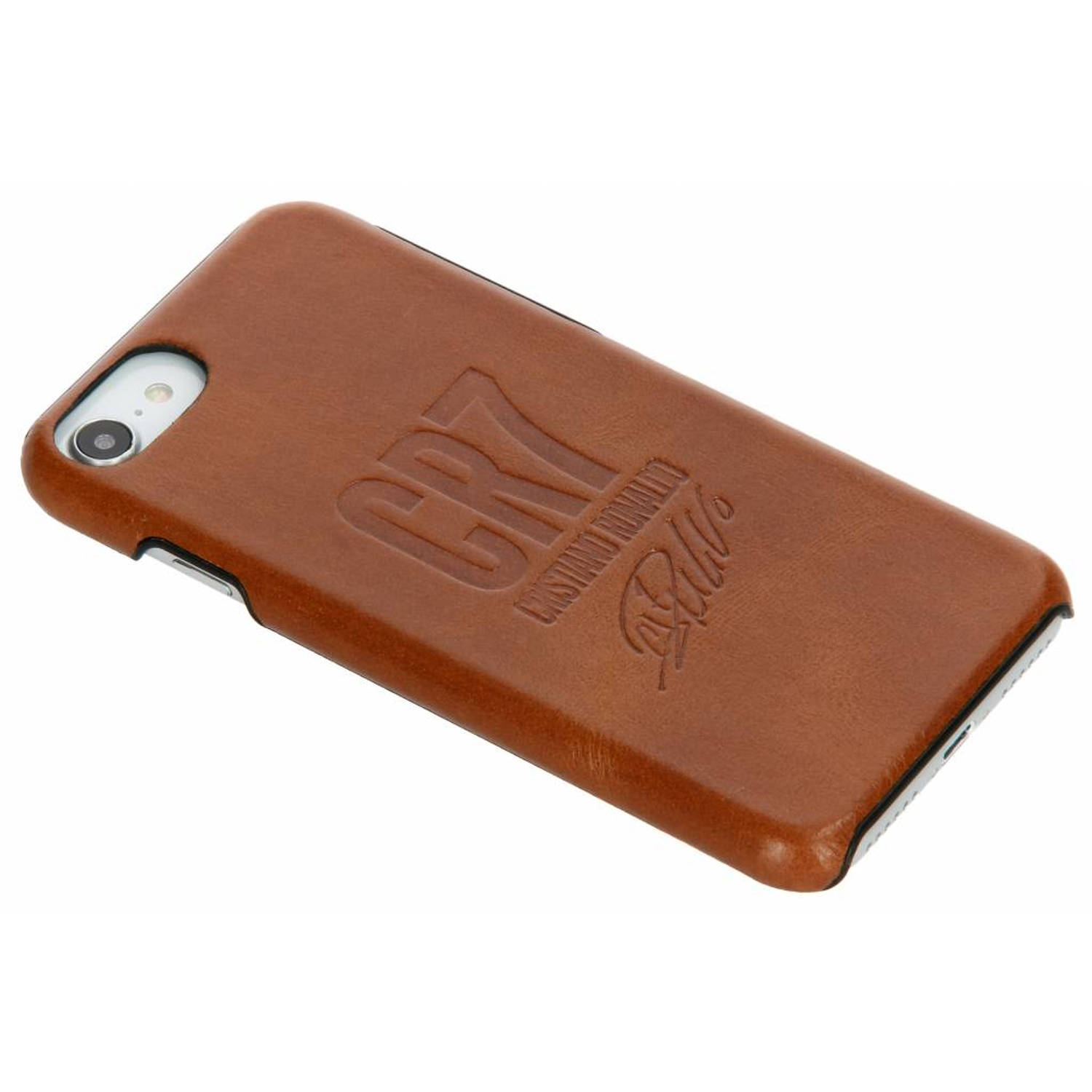 Bruine CR7 Signature Edition Leather Case voor de iPhone 8 / 7 / 6s / 6