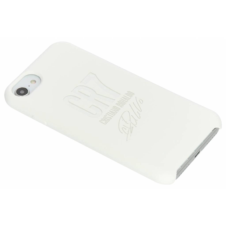 Witte CR7 Signature Edition Silicone Case voor de iPhone 8 / 7 / 6s / 6