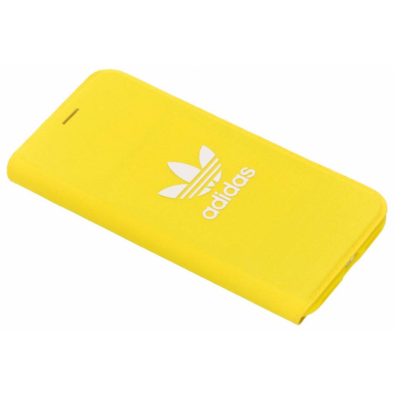 Gele Adicolor Booklet Case voor de iPhone X