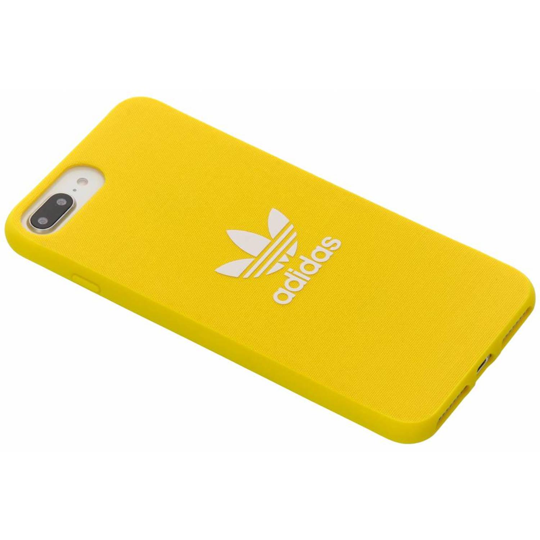 Gele Adicolor Moulded Case voor de iPhone 8 Plus-7 Plus-6(s) Plus