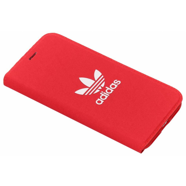 Rode Adicolor Booklet Case voor de iPhone X