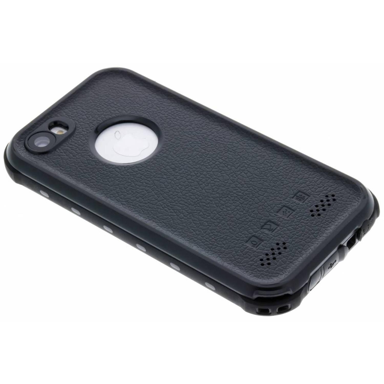 Zwarte Dot Plus Waterproof Case voor de iPhone 5 / 5s / SE