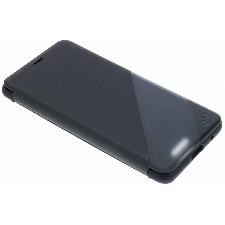 Zwarte Smart Folio WiLine voor de Wiko View Lite