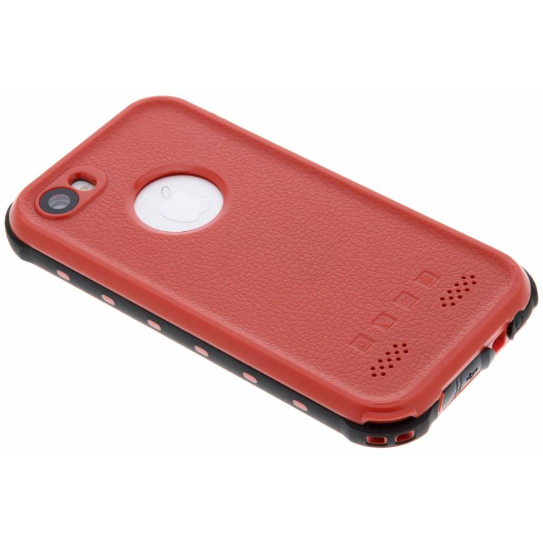 Rode Dot Plus Waterproof Case voor de iPhone 5 / 5s / SE