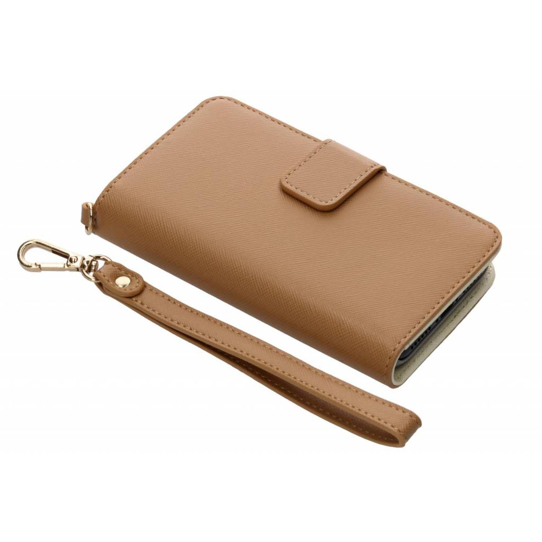 Bruine Wallet Case voor de iPhone 8 / 7 / 6s / 6