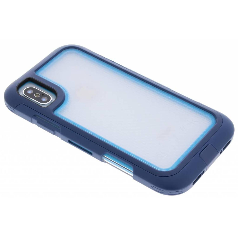 Blauwe Survivor Extreme 360° Protection Case voor de iPhone Xs / X