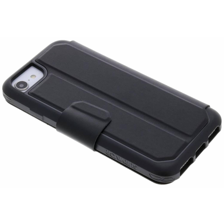 Zwarte Survivor Strong Wallet Case voor de iPhone 8 / 7 / 6s / 6