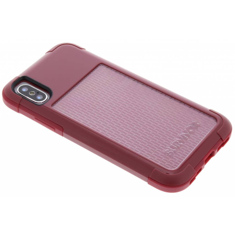Rode Survivor Fit Case voor de iPhone Xs / X
