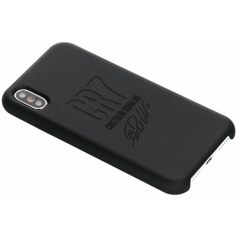 Zwarte CR7 Signature Edition Silicone Case voor de iPhone Xs / X