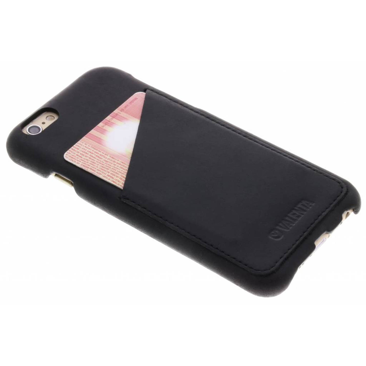 Zwarte Back Cover Classic voor de iPhone 6 / 6s