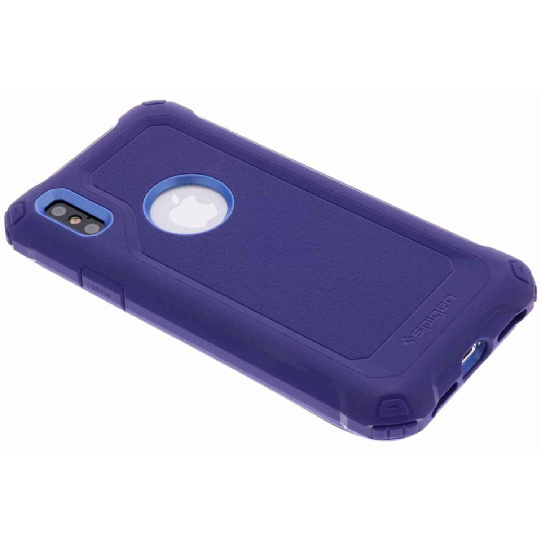 Paarse Pro Guard™ Case voor de iPhone X