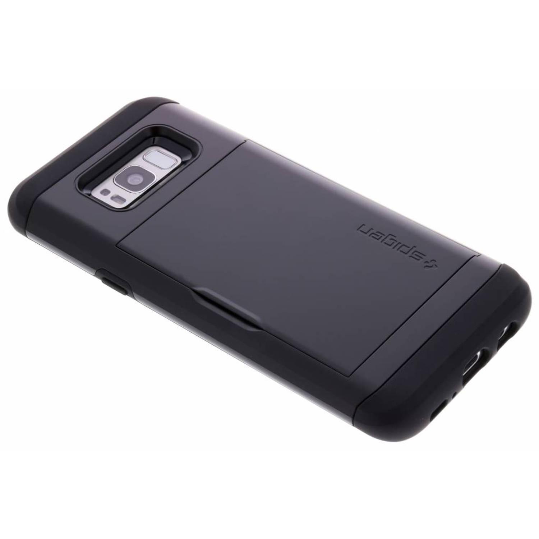 Zwarte Slim Armor™ CS Case voor de Samsung Galaxy S8 Plus