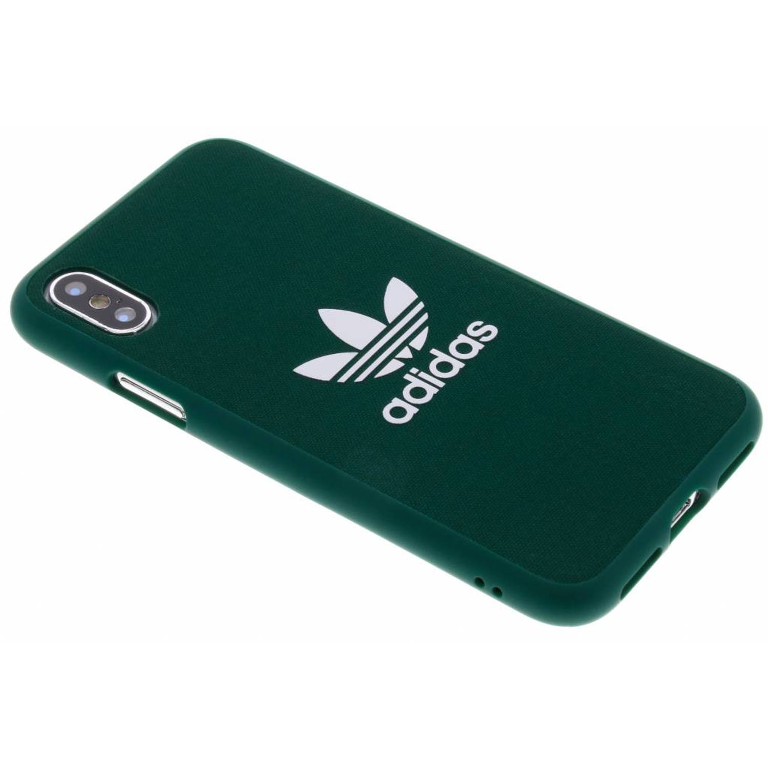 Groene Adicolor Moulded Case voor de iPhone X