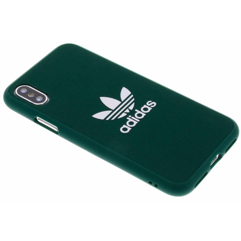Groene Adicolor Moulded Case voor de iPhone X