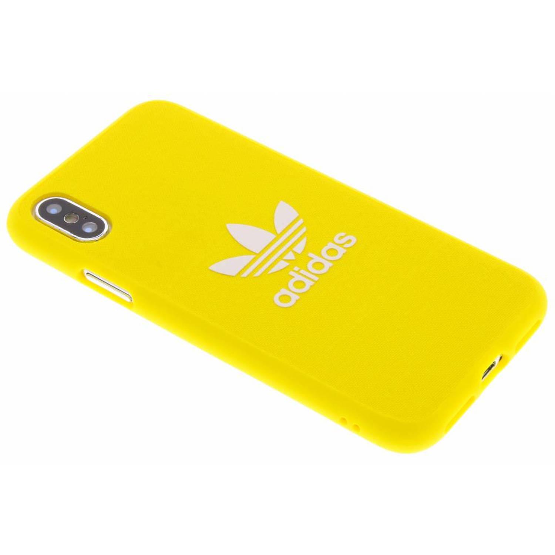 Gele Adicolor Moulded Case voor de iPhone Xs / X