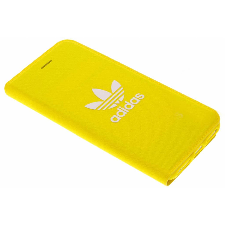 Gele Adicolor Booklet Case voor de iPhone 8 / 7 / 6s / 6