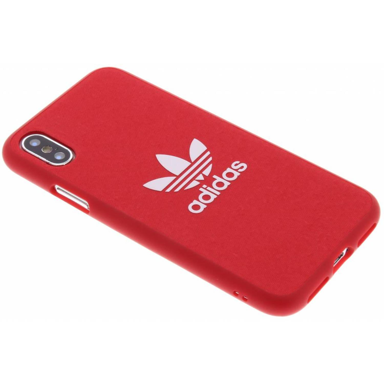 Rode Adicolor Moulded Case voor de iPhone X