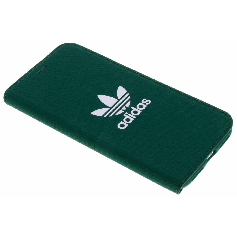 Groene Adicolor Booklet Case voor de iPhone X