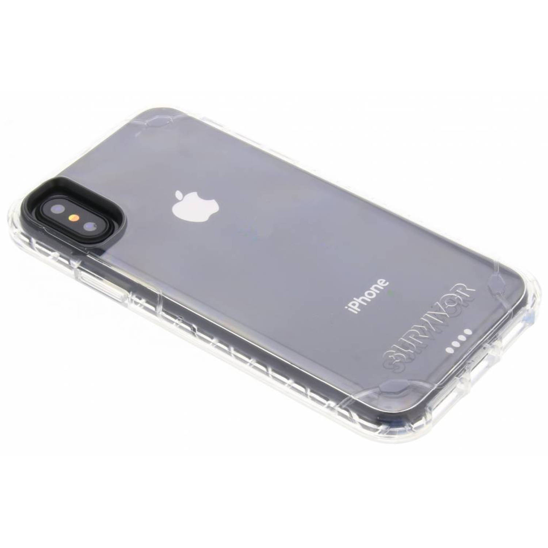 Transparante Survivor Strong Case voor de iPhone Xs / X