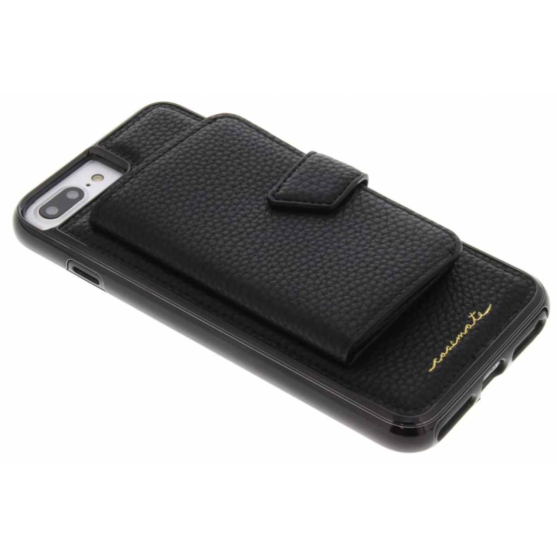 Zwarte Compact Mirror Case voor de iPhone 8 Plus / 7 Plus