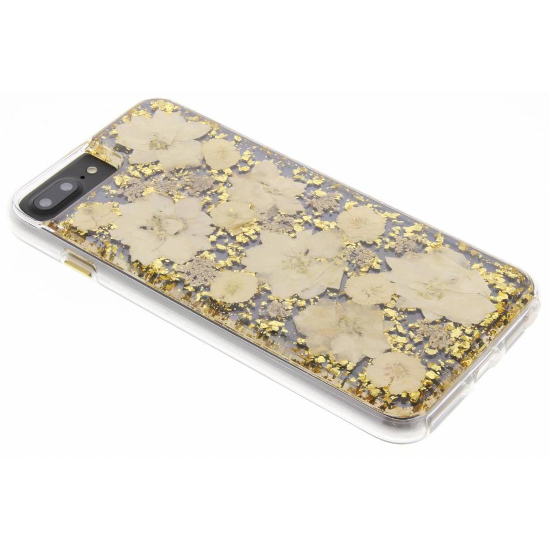 Gouden Karat Petals Case voor de iPhone 8 Plus / 7 Plus