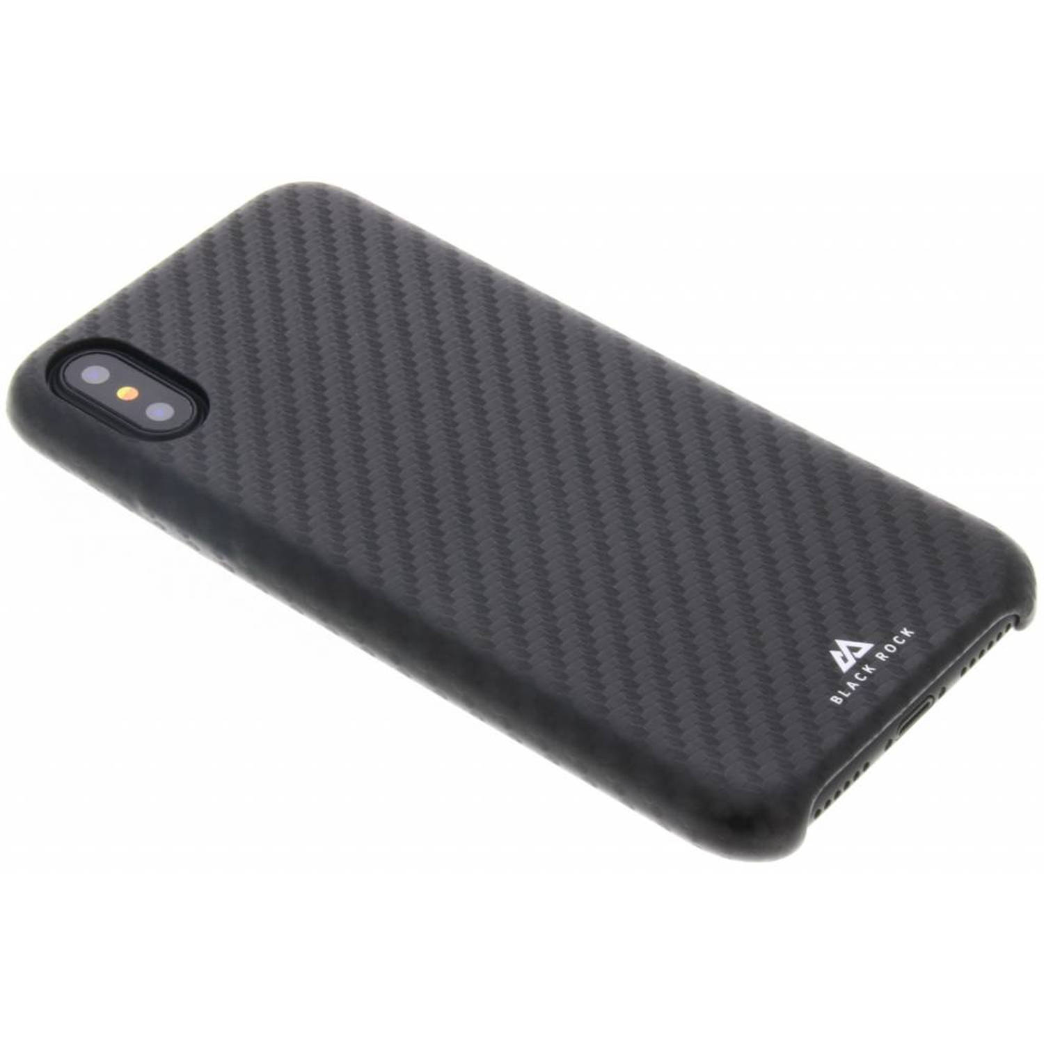 Zwarte Flex Carbon Case voor de iPhone Xs / X