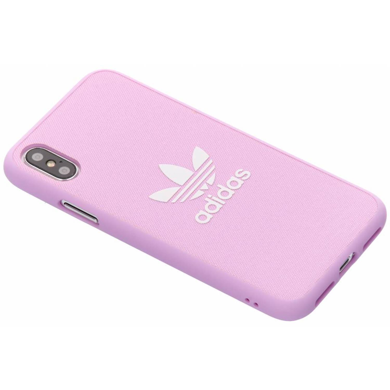 Roze Adicolor Moulded Case voor de iPhone Xs / X