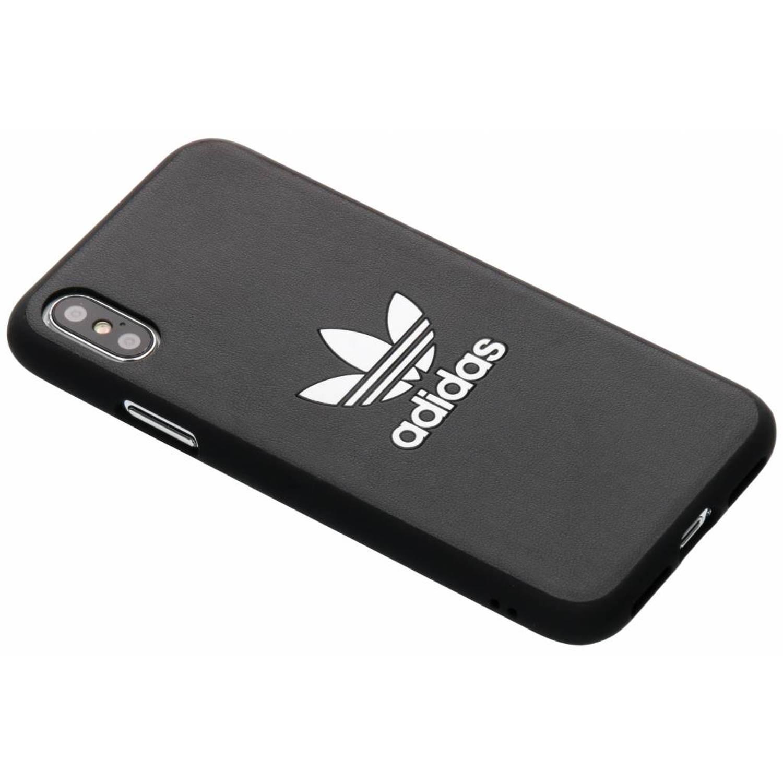 Zwarte Basics Moulded Cover voor de iPhone Xs / X