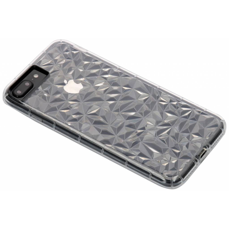 Image of Transparante geometric style siliconen case voor de iPhone 8 Plus / 7 Plus